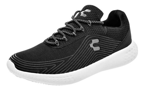 Tenis Deportico Caballero Charly 1029445 Negro Gris 25-29 T5