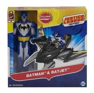Muñeco Batman Y Batjet Justice League Full