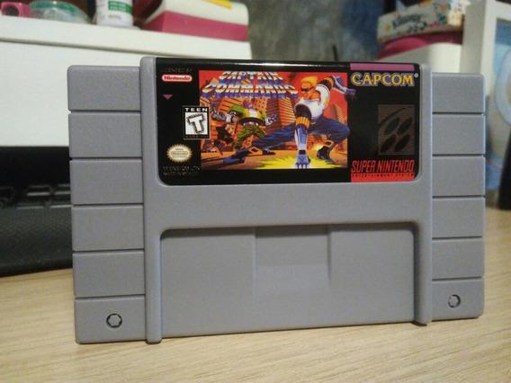 Capitão Comando Snes Cartucho Super Nintendo