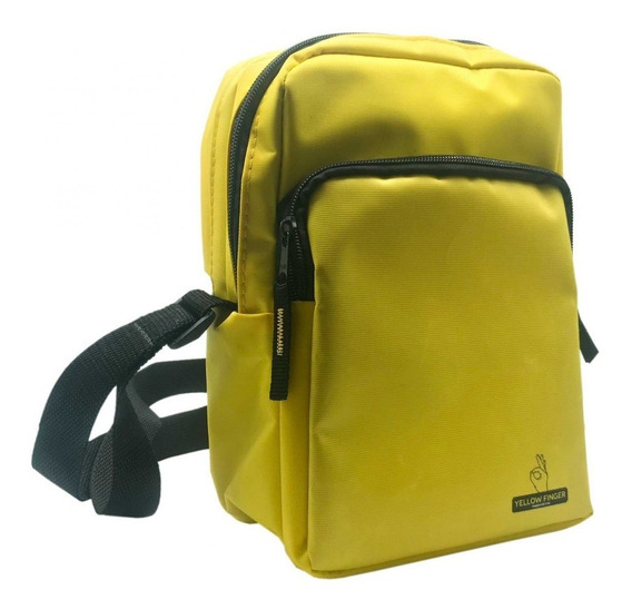 Shoulder Bag Secret Bag Yellow Finger + Brinde