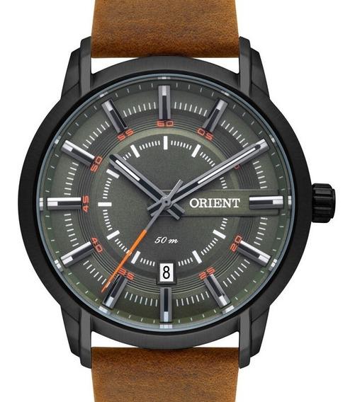 Relógio Orient Masculino Couro Mpsc1006 E1mx