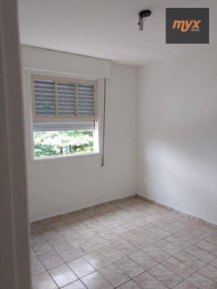 Apartamento Com 2 Dormitórios Para Alugar, 103 M² Por R$ 1.650,00/mês - Encruzilhada - Santos/sp - Ap4138