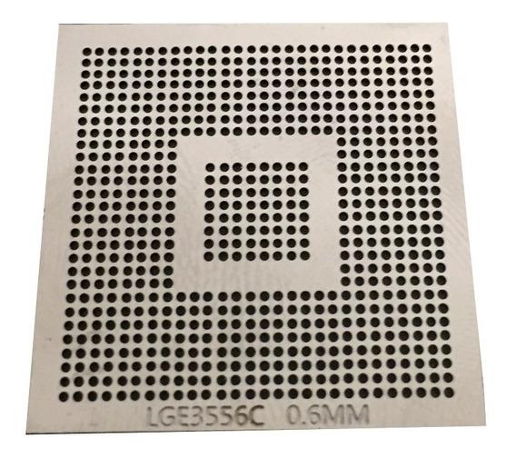 Stencil Lge3556 Lge3556c Bga Hd Lcd Tv Chip Lg 0,60mm