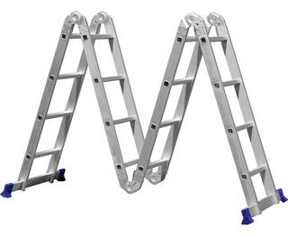 Escada Articulada 16 Degraus 4x4 Multifuncional