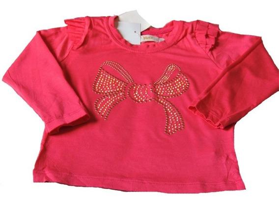 Camiseta Infantil Feminina Malha Aplique Trick Nick Tam.3