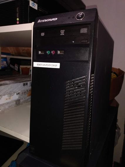 Cpu Lenovo63 - I3 4ª Geração- 8gb Ram- Hd 500 Gb