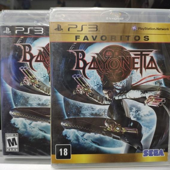 Jogo Bayonetta Playstation 3, Mídia Física, Lacrado