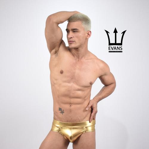 Imagen 1 de 3 de Slip Golden Evan's Underwear