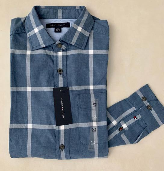 Camisa Tommy Hilfiger Original Masculina P Entrega Importada