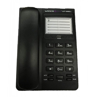 Telefono De Mesa Fijo De Linea Numeros Grandes Winco Te-9999