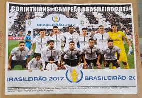 Poster Do Corinthians - Campeão Brasileiro De 2017