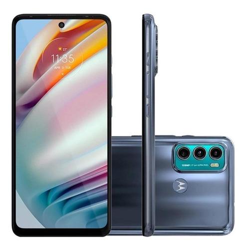 Celular Motorola Moto G60 Azul 128gb Tela 6.8 6gb Ram