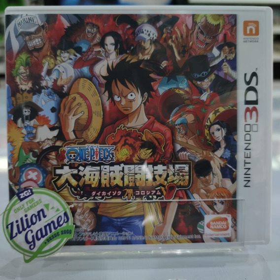 One Piece Dai Kaizoku Colosseum 3ds - Completo