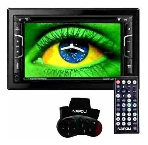 Dvd Central Multimidia Napoli 7445/7335,tv Dig/gps,cd/dvd,sd