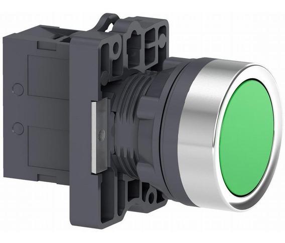 Pulsador Rasante 1na Verde Linea Xa2 Schneider Electric