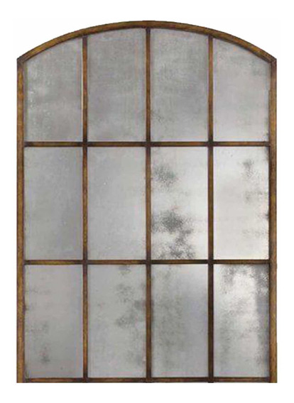 Espejo Espejos Vidrio Repartido Marco Hierro 1/2punto 1mx80