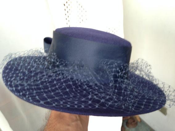 Sombrero De Dama De Paño Deborah New York (usa)