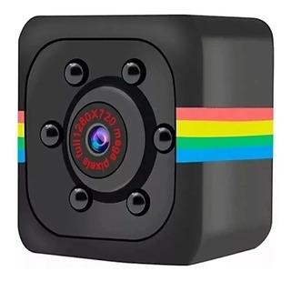 Minicámara Sq11 Hd De 1080p Dv Cc Con Visión Nocturna