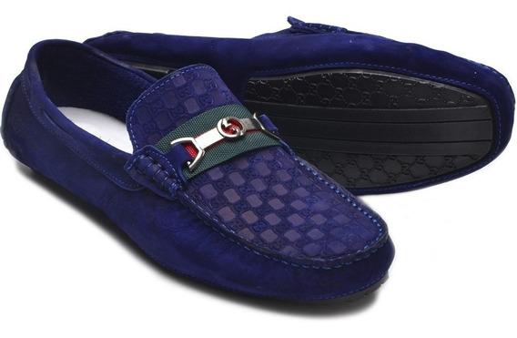 Mocassim Sapatenis Original 100% Couro Gucci Imperdivel
