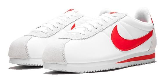Tênis Nike Cortez Nylon Classic Red White Lifestyle