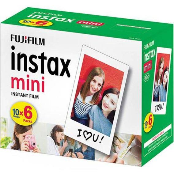 Filme Fujifilm Mini Branca 60 Unidades