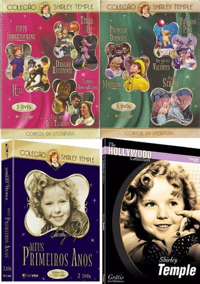 Shirley Temple Coleção Box Em Dvd Melhores Contos Histórias
