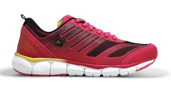 Zapatilla Jaguar 0002 Rosa Dorado T 35 36 37 38 39 40 Run