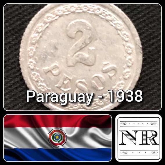 Paraguay - 2 Pesos - Año 1938 - Km # 17 - Aluminio