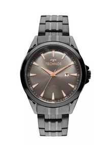 Relógio Masculino Technos Executive 2115lat/4c 45mm Grafite