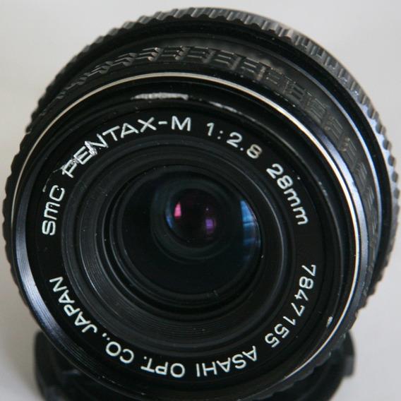Lente Pentax M 28mm F2.8
