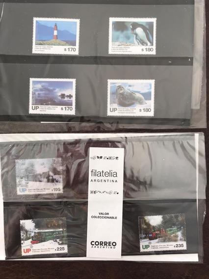 Argentina 2019 Packs Sur Y Tren Fin Del Mundo Mint