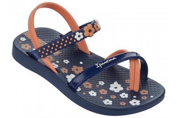 Sandalia Ipanema Fashion Iv Sd Baby Azul / Azul
