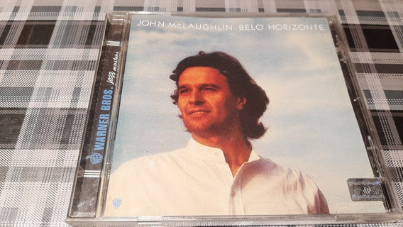 John Mclaughlin - Belo Horizonte - Cd Original - Jazz Impe