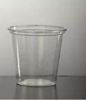Vasos De Plástico 110cc Cristal X 100u.