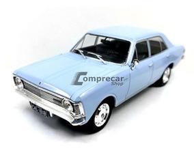 Miniatura Chevy Opala 2500 Sedan 1969 Azul Califórnia 1/24