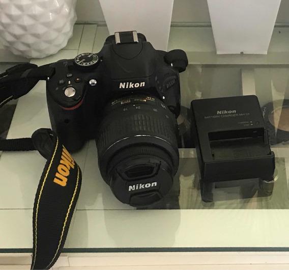 Nikon D5100 Com Lente 18-55mm