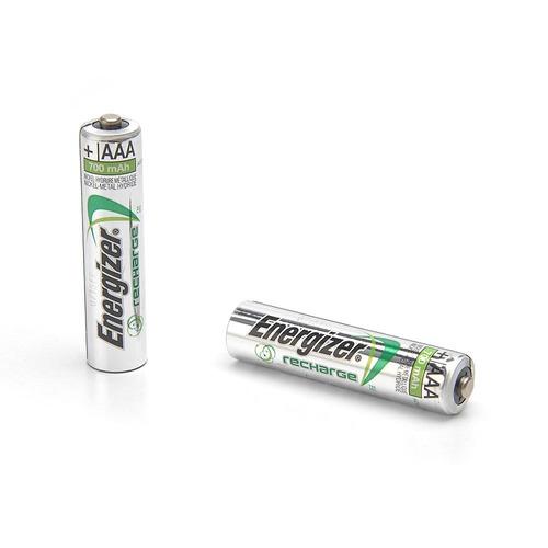 Pilas Recargables Baterias Energizer Aaa X 2 (700 Mah)