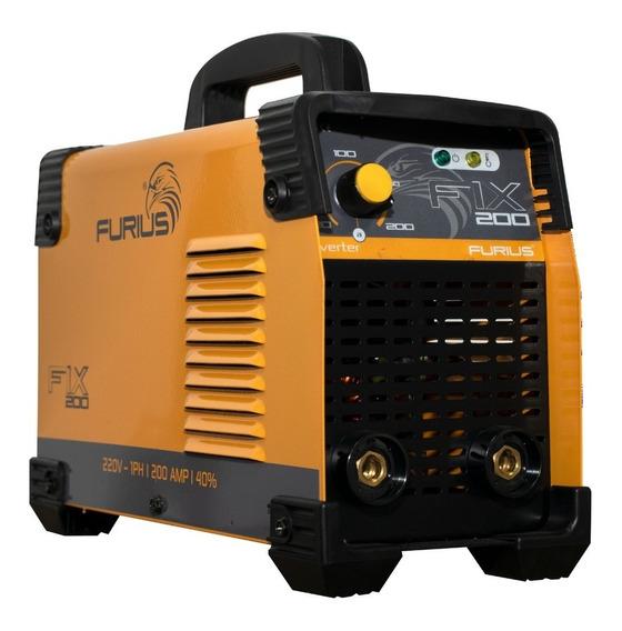 Maquina De Soldar / Furius Fix 200 - 200a 220v