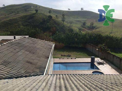 Chácara Com 4 Dormitórios À Venda, 1200 M² Por R$ 1.300.000,00 - Condomínio Parque Vale Dos Lagos - Jacareí/sp - Ch0022