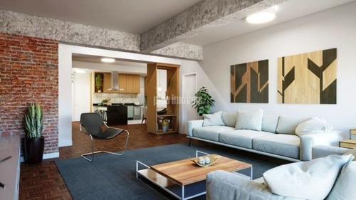 Imagem 1 de 9 de Higienópolis - Apartamento Reformado - Pj54642