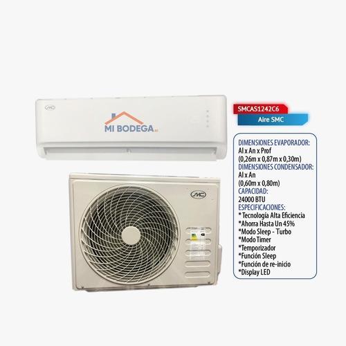 Aire Acondicionado Smc 12000 18000 24000 Btu Alta Eficiencia