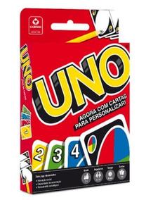 Jogo Uno - Com Cartas Para Personalizar