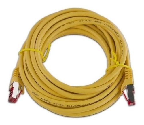 Cable De Red Ethernet Lan Rj45 Categoria-6 Cate6 20-metros