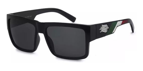 Óculos Locs 91061 Mex Gloss Black Cholo Old School Lowrider 100% Original Pronta Entrega