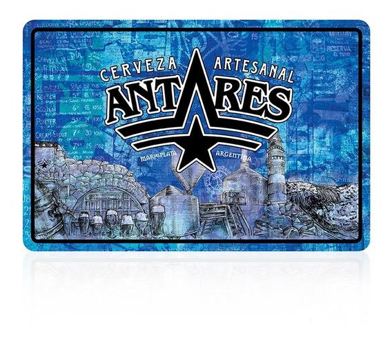Chapa Azul Cerveza Artesanal Antares