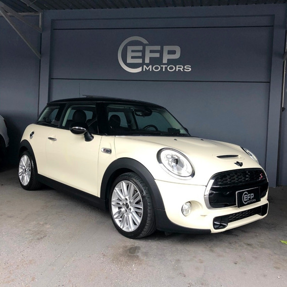 Mini Cooper 2.0 S Top 2018 Branco Com Teto Solar Impecavel