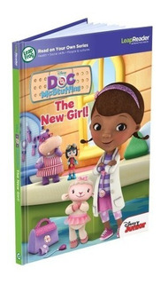 Leapfrog Leapreader Disney Doc Mcstuffins The New Girl Read