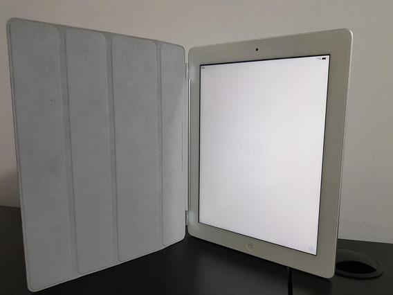 Apple iPad 3 Wi-fi Retina 9,7 64gb Branco Md330bz/a Perfeito