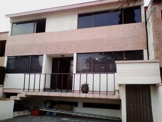 Casa En Venta. Colonia Los Girasoles, Coyoacán