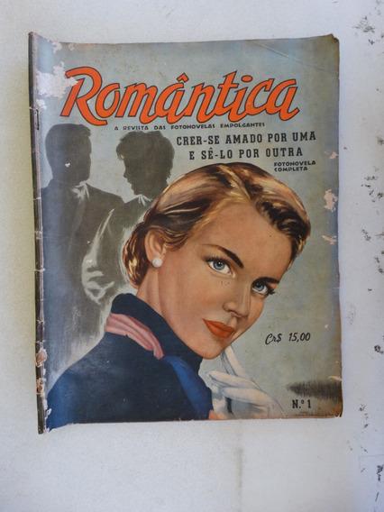 Romântica Nº1! Ed; Vecchi 1960! Fotonovelas!